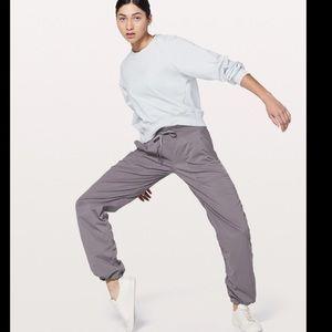 Lululemon Studio Dance pants in charcoal gray